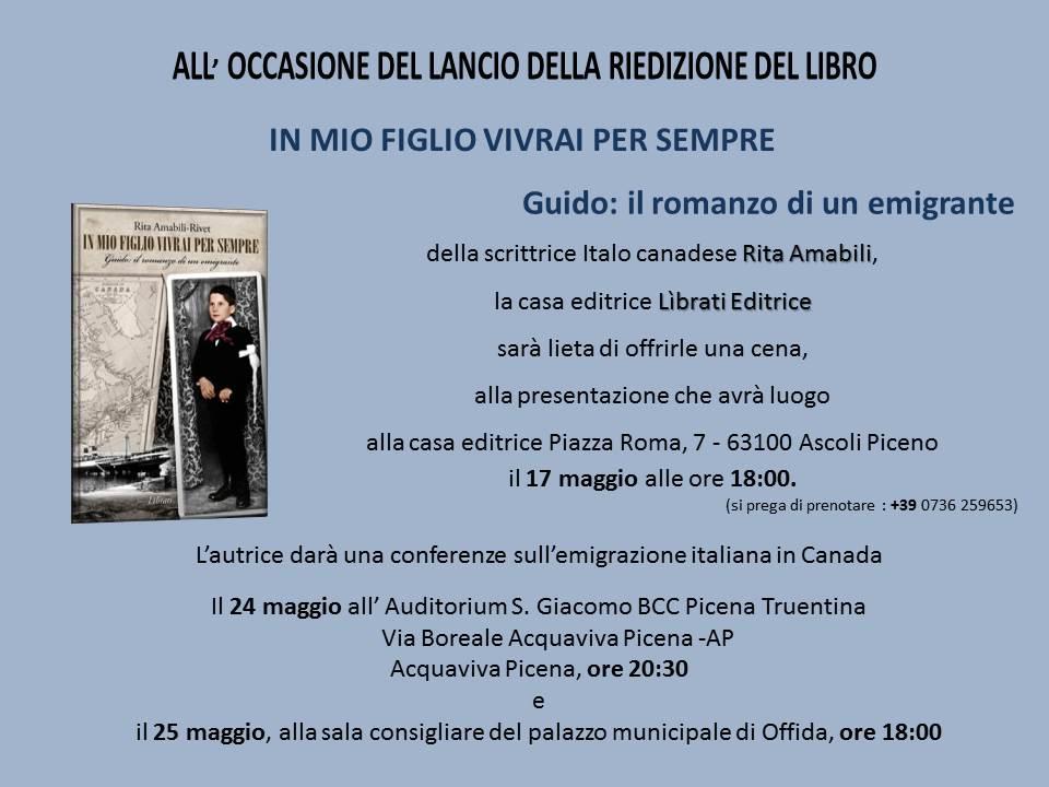 Invito di Rita Amabili