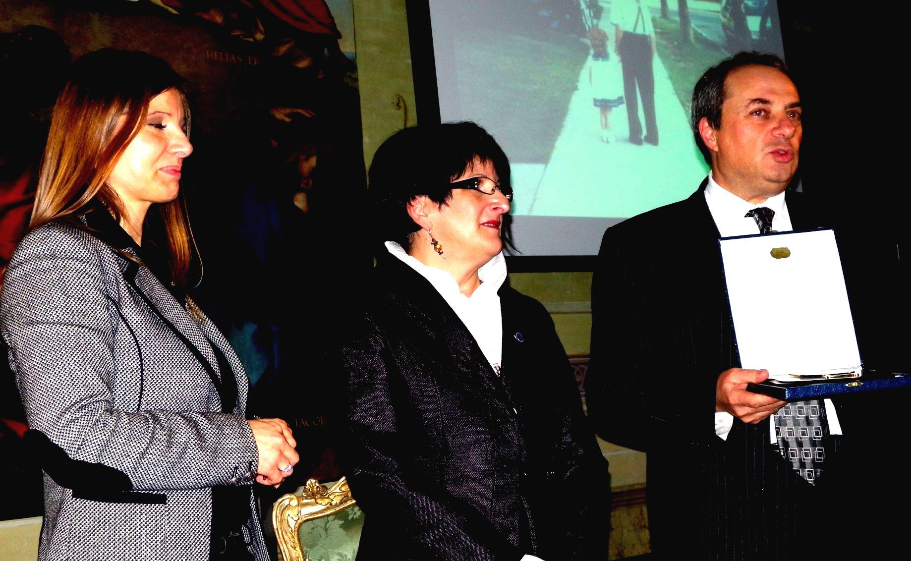 Réception des armoiries de la région Marche : il Picchio Nero - décembre 2012